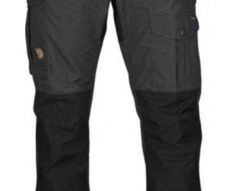 Fjällräven Vidda Pro Trousers Men Regular – dark grey black str. 48